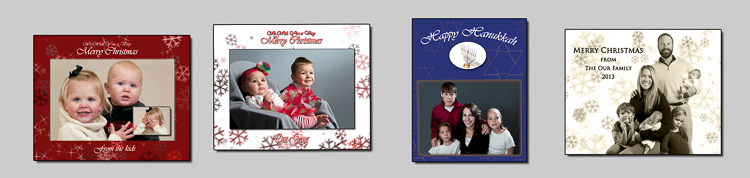 ideal photography greeting cards, christmas cards